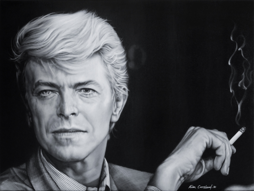 David Bowie by chaosart